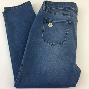 Talbots Jeans - TALBOTS Flawless Five-Pocket Slim Ankle Jeans 16P